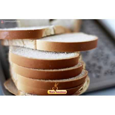 Pão de forma tradicional mais gostoso